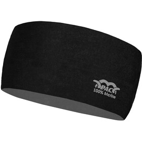 P.A.C. Merino Stirnband total black